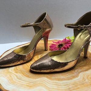 J. Crew Shoes - J. Crew Women's Metallic Pumps